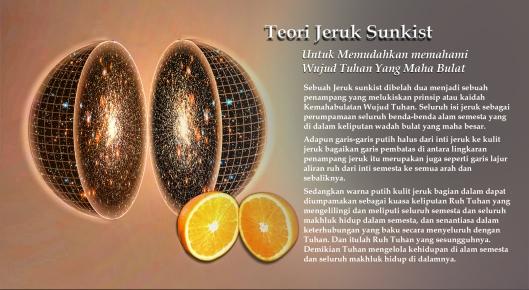 alam semesta dan jeruk