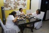 Belajar masak makanan Jepang, chicken nori manggo. Pada hari ulang tahun YM Dunuk.