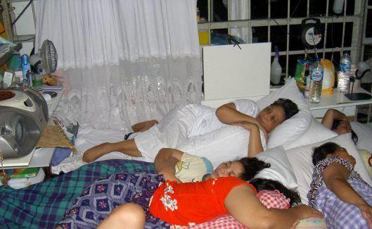 Beginilah kamarku di Rutan Pondok Bambu, sekamar ditempati 25 orang.