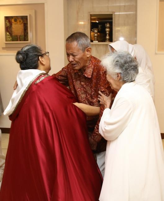 Pak Umar dan Mbak Ipuk yang kami cintai juga hadir di acara syukuran