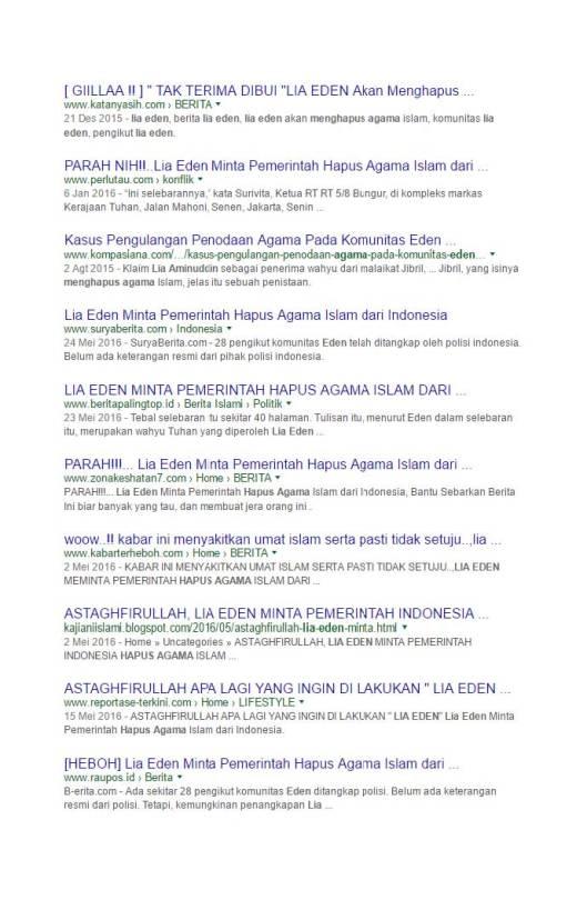 Google Search Eden meminta pemerintah menghapus agama Islam (4)