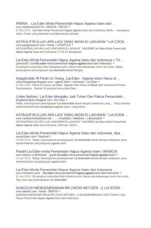 Google Search Eden meminta pemerintah menghapus agama Islam (6)