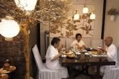 Menikmati hidangan suci Surgawi di hari kasih sayang